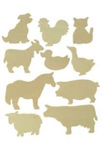 Templates For Wood Cutouts by Farm Animal Stencils Free Search Scan N Cut