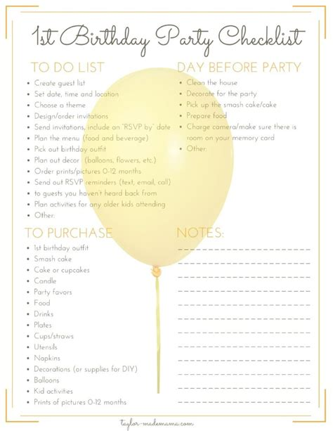 theme messages list the ultimate first birthday party planning and gift guide