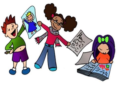 imagenes niños trabajando en la escuela actividades de la biblioteca