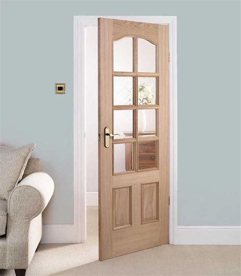 Contemporary Glass Panel Interior Doors 30 X 80 Interior Door With Glass Are Chosen Often For Living Rooms In Modern Style