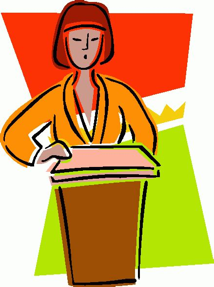 speech clipart sales marketing how to give a great speech