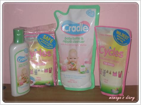 Refill Cycles Detergent cradle and cycle for our babies protection