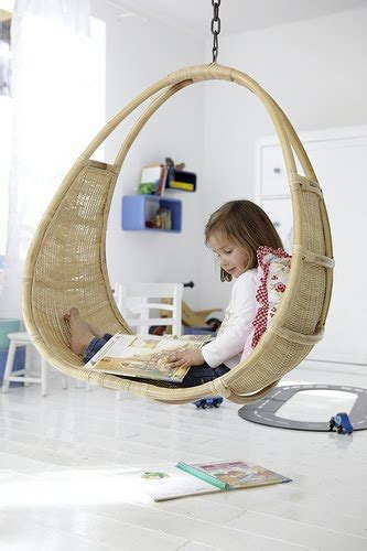 hanging chair for kids bedroom the boo and the boy hanging chairs swings in kids rooms