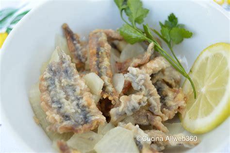 come cucinare le alici marinate alici fritte marinate la ricetta delle alici fritte e poi
