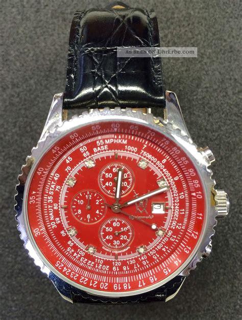Armani Uhren Herren 3166 by K 214 Nigswerk Chronograph Nos 8 Echte Diamanten Box