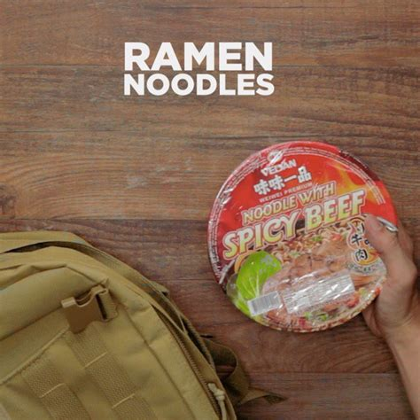 Ramen Shelf by Survival Food 101 8 Survival Foods That Will Save You In