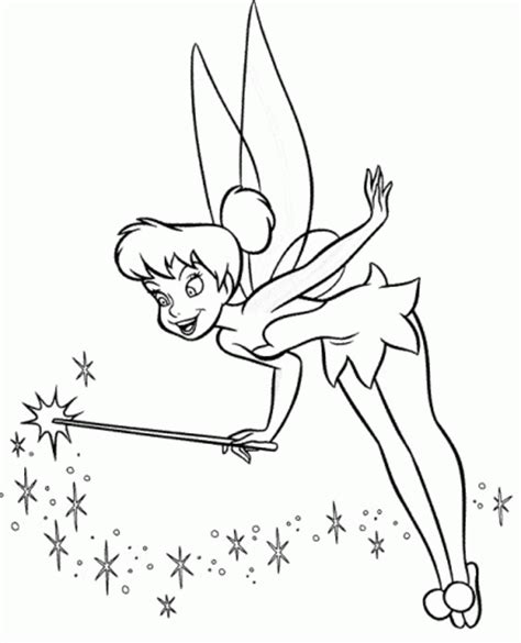 coloring pages tinkerbell free coloring pages of tinkerbell