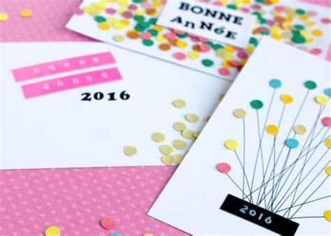 new year card ideas handmade new year greeting cards 2016 pink lover