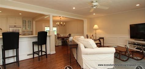 Ranch Floor Plans Open Concept Evolution Of Style Staging To Sell A Case Study In Pictures