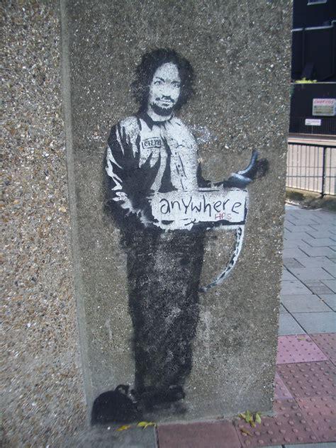 banksy  el graffiti obras de banksy ii