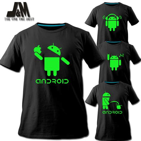 design tshirt kelas 2013 2016 men shirt android logo sales promotion luminous t
