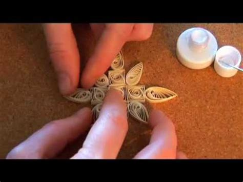 youtube tutorial quilling quilling basics quilled christmas decorations youtube
