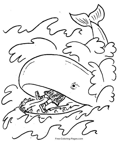 free coloring pages for toddlers from the bible jonah coloring pages bible