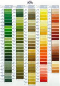 dmc thread color chart mouline dmc colors and code goblen