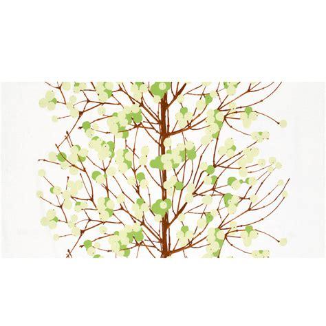 marimekko stoffe marimekko lumimarja white green cotton fabric