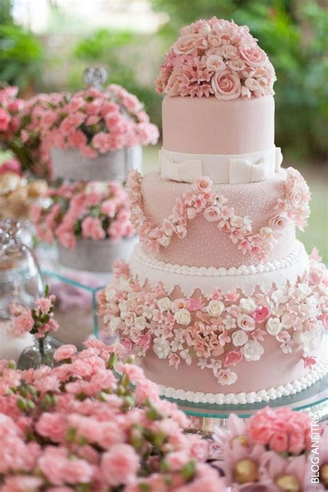 Pink Wedding Cake by 28 Inspirational Pink Wedding Cake Ideas