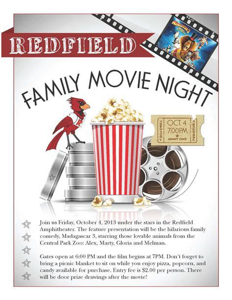 movie night october 4th redfield pto