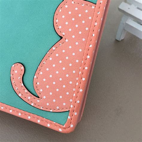 Dompet Cat by Dompet Wanita Cat Pattern Pink Jakartanotebook
