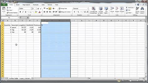 dd 3 5 template list tutorial sketchup cutlist plugin to excel