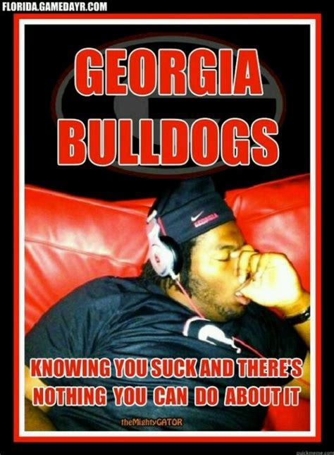 Georgia Bulldogs Memes - 73 best images about to hell with georgia on pinterest