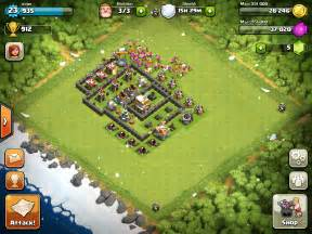 Clash of clans layout town hall 4