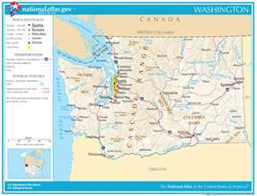 road map state washington state maps interactive washington state road