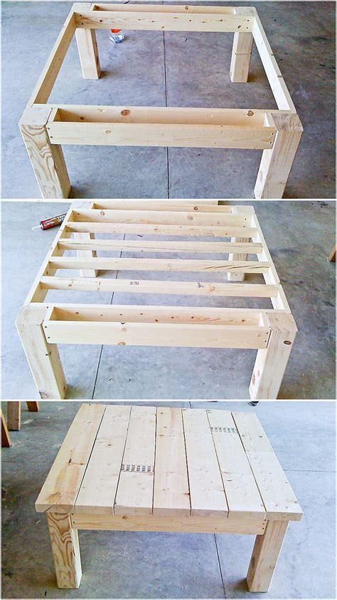 i want to build houses for a living table from pallet wood i don t want to use pallet wood but