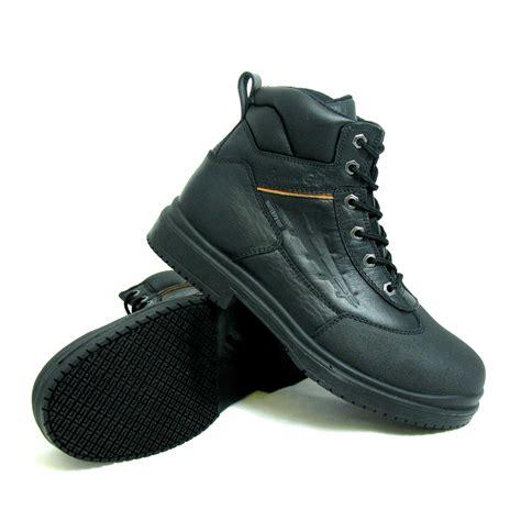 slip proof shoes steel toe slip resistant shoes kmart