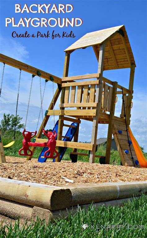 sandbox for backyard diy backyard playground how to create a park for kids