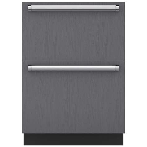 sub zero freezer drawers with ice maker id 24fi sub zero 24 quot freezer drawers panel ready pieratt
