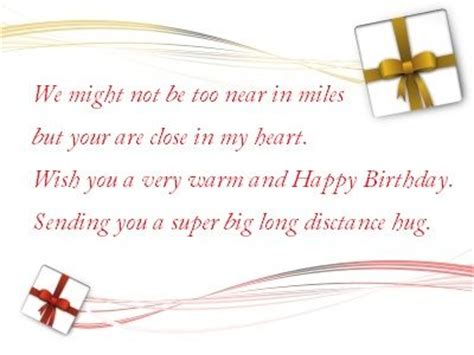 Birthday Quotes For Someone Who Away Birthday Wishes For Far Away Friend Http Www Happy