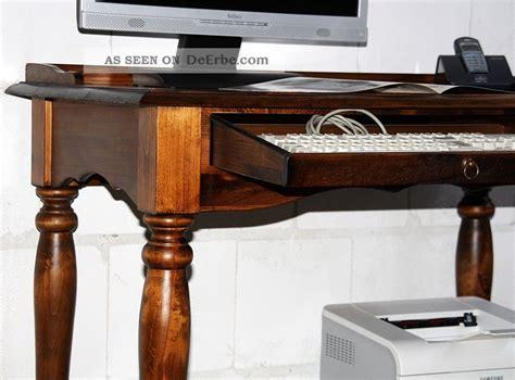 computer schreibtisch massivholz computertisch schreibtisch sekret 228 r pc tisch massiv holz