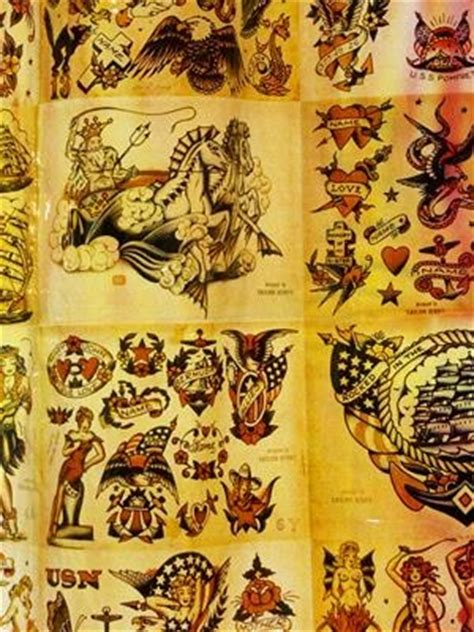 sailor jerry shower curtain 17 best images about tattoos on pinterest don ed hardy