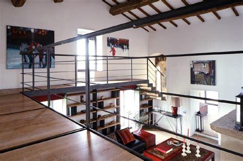 Mezzanine Interior Design by Metal Balustrade Mezzanine Interior Design Ideas