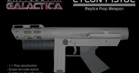 Battlestar Galactica Papercraft - battlestar galactica cylon pistol papercraft papercraft