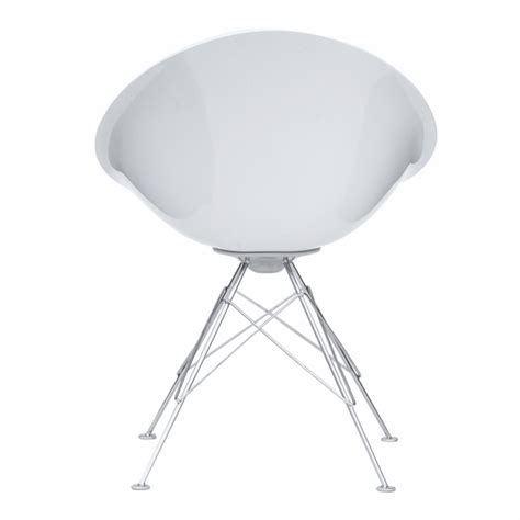 eco wirebase dining chair white modern in designs