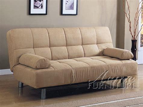 acme furniture beige microfiber adjustable
