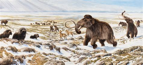 animal during great ice age wisconsin history