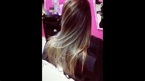 adriana lima s hair layers and soft balayage balayage lima