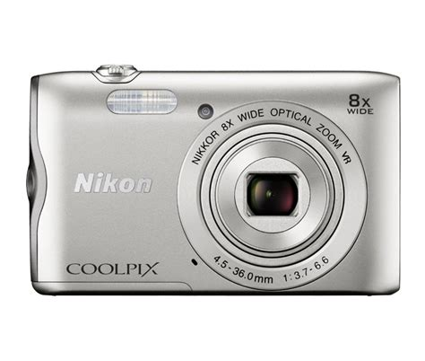 Nikon A300 Blacksilverred nikon coolpix a300 compact digital