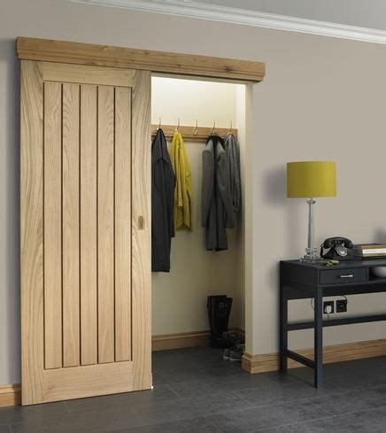 Oak Sliding Closet Doors Dordogne Oak Howdens As A Sliding Door Sitting Room Cloaks Sliding