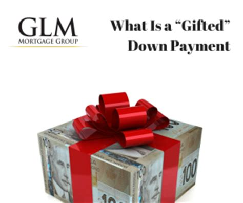Gift Letter Cmhc What Is A Gifted Payment Glm Mortgage