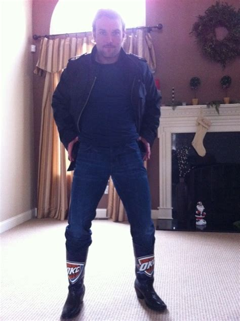 sheck wes boot wes welker wearing oklahoma city thunder boots picture