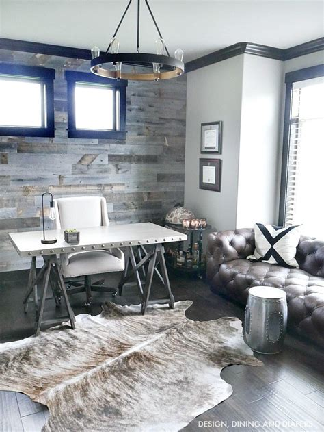 rustic home office modern rustic office design taryn whiteaker