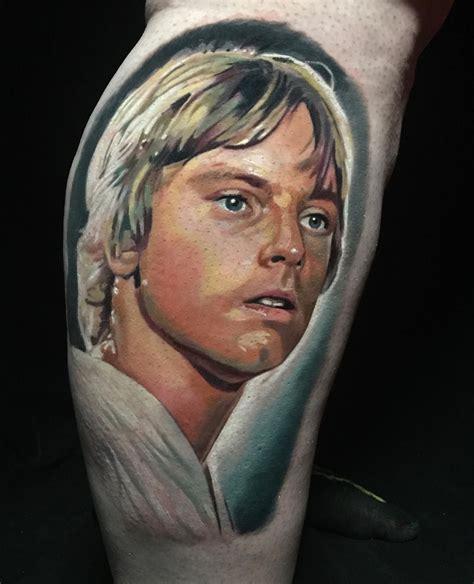 luke skywalker tattoo luke skywalker by pony lawson tattoos