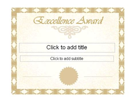 editable award certificate template certificate of excellence template helloalive