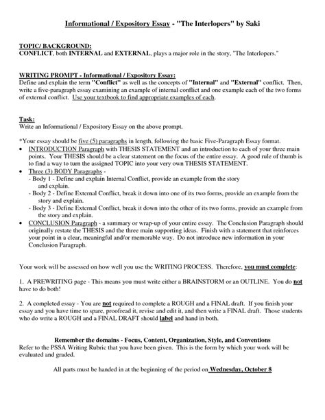 what is a expository essay example expository essay introduction