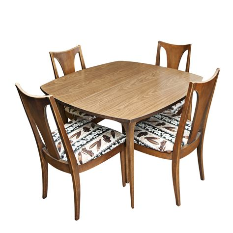 Retro Dining Table And Chairs Vintage Mid Century Dining Table And Chairs Ebay