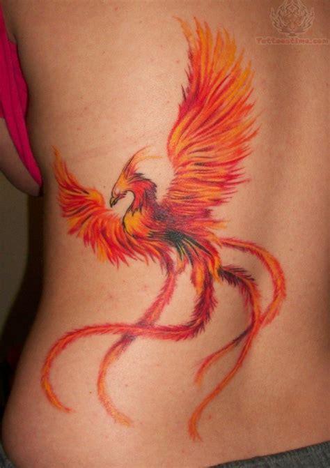 tattoo phoenix images phoenix bird tail tattoo