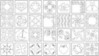 10 off printable quilting designs from the quiltmakers